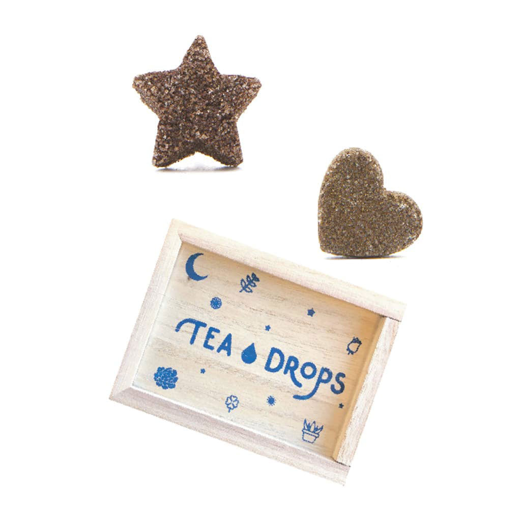 Assortment Tea Drops - Mini Wooden Box