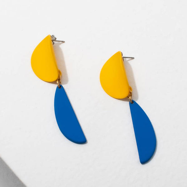 Yayoi Earrings - Yellow