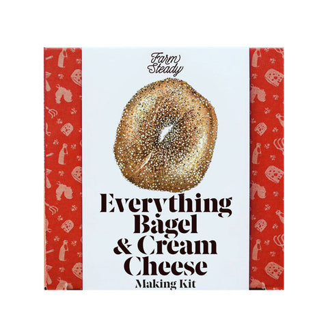 Everything Bagel and Cream Cheese Making Kit - City Bird