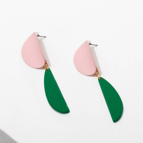 Yayoi Earrings - Pink
