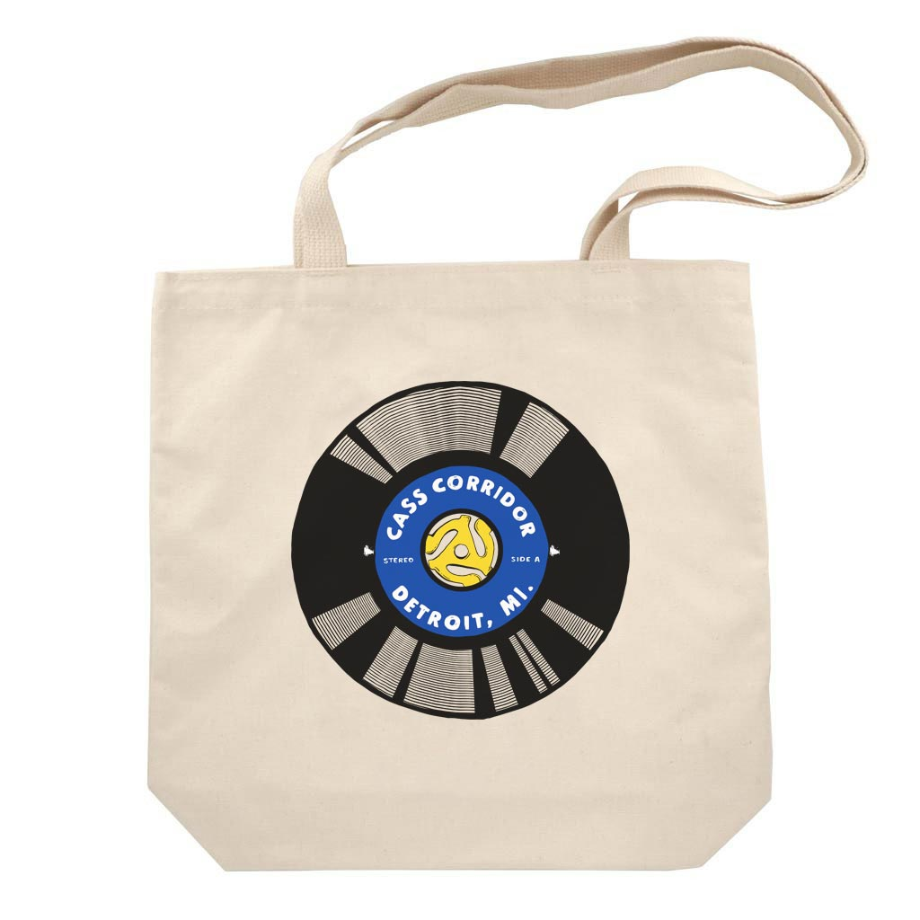 Cass Corridor Tote Bag - City Bird