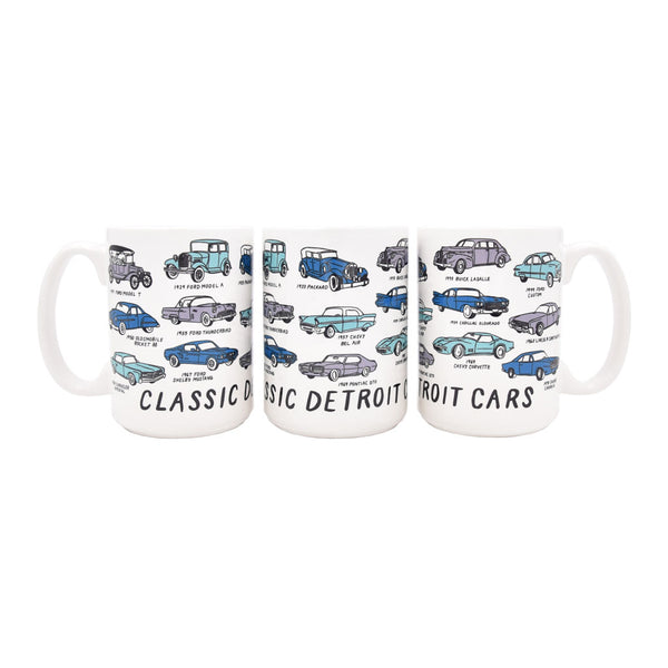 Detroit Classic Cars Mug - City Bird