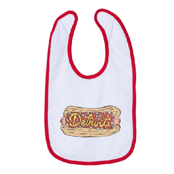 Detroit Coney Bib