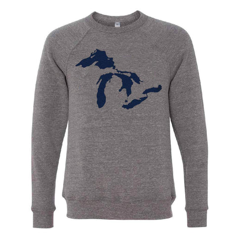 Great Lakes Heather Gray Crewneck - City Bird