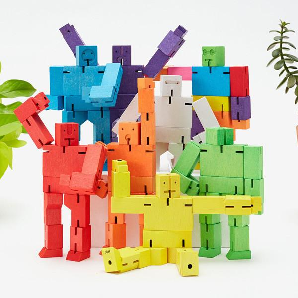 Cubebot Wooden Figure - City Bird