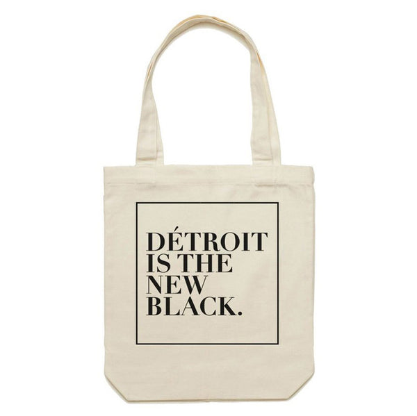 Detroit is the New Black - Tote