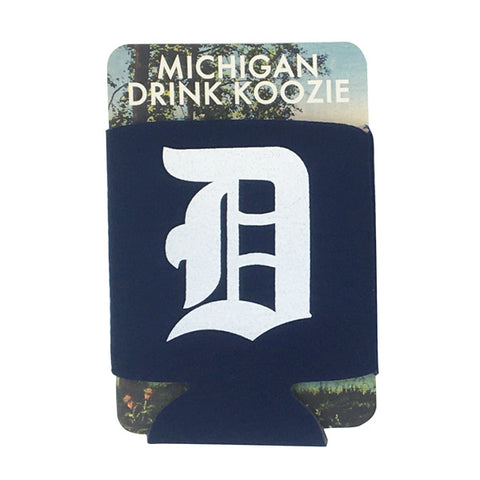 Old English 'D' Koozie