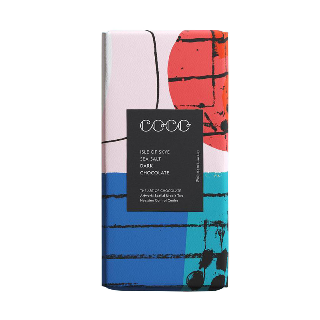 Isle of Skye Sea Salt Dark Bar - City Bird