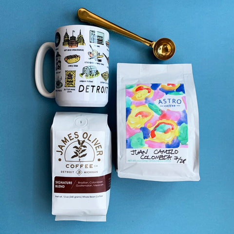 Detroit Coffee Lover Gift Box