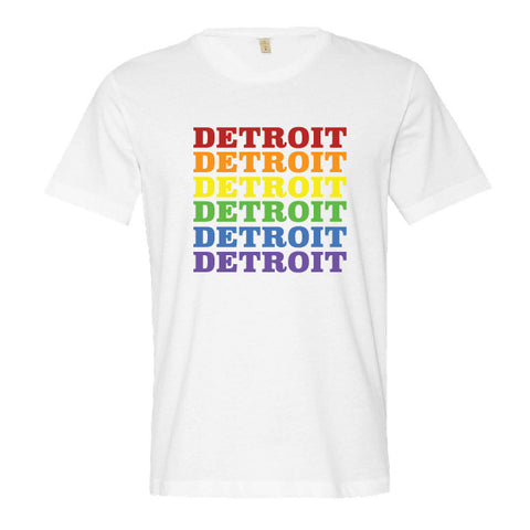 Detroit Rainbow T-Shirt