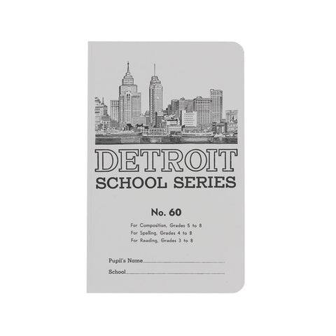 Detroit School Series Notebook - City Bird