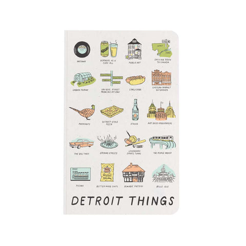 Detroit Things Notebook - City Bird