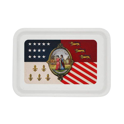 Detroit City Flag Catchall Tray - City Bird