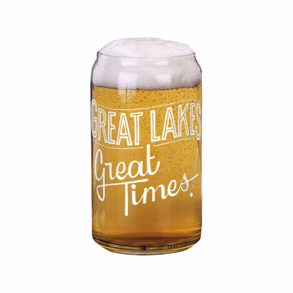 Great Lakes Great Times Beer Can Glass - City Bird