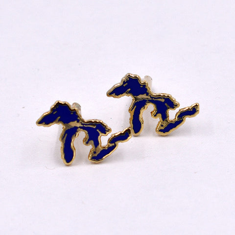 Great Lakes Cloisonné Cuff Links