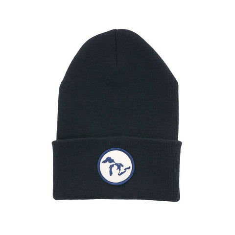 Great Lakes Patch Knit Cap - City Bird