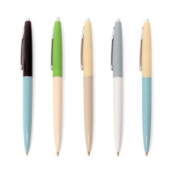 Vintage-Style Pen Set - City Bird