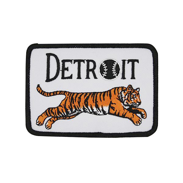Leaping Tiger Detroit Patch - City Bird