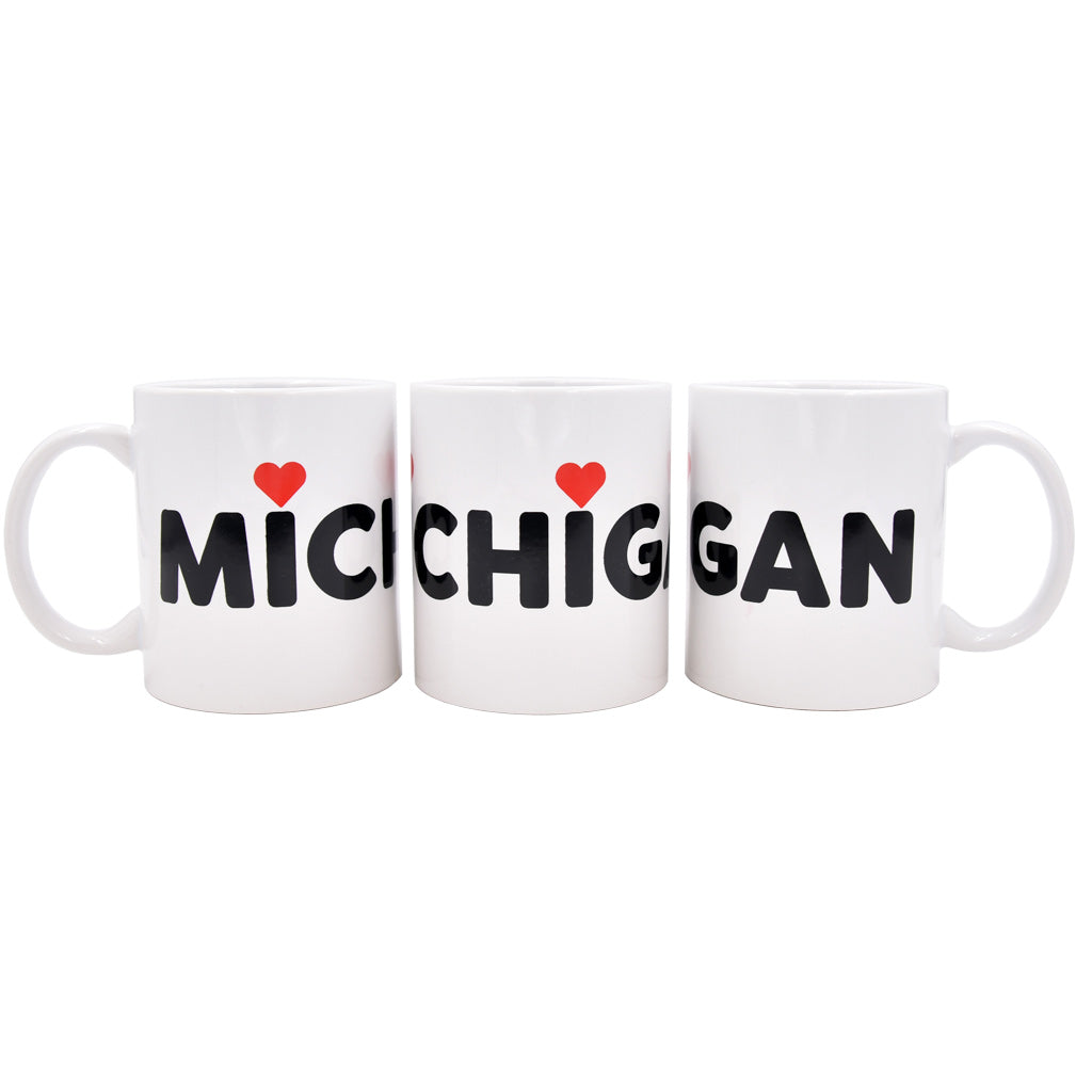 Michigan Love Mug - City Bird