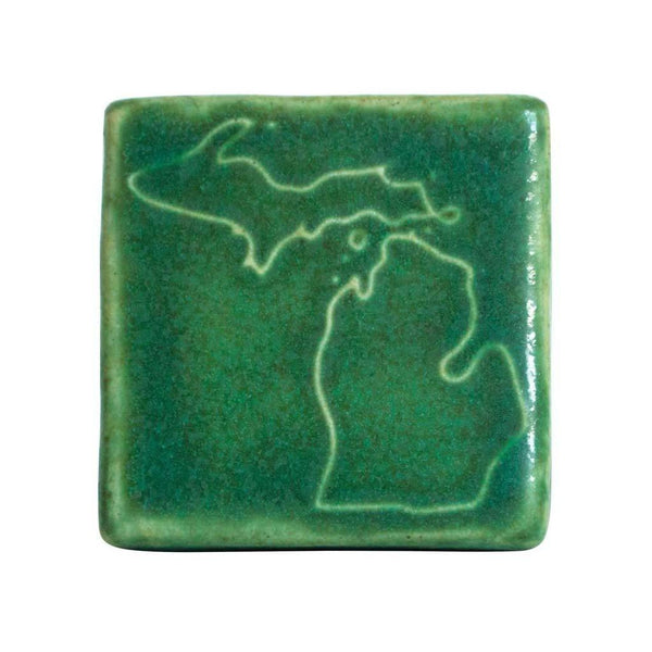 "Michigan Tile 3""x3"" - City Bird"