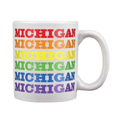 Michigan Rainbow Mug