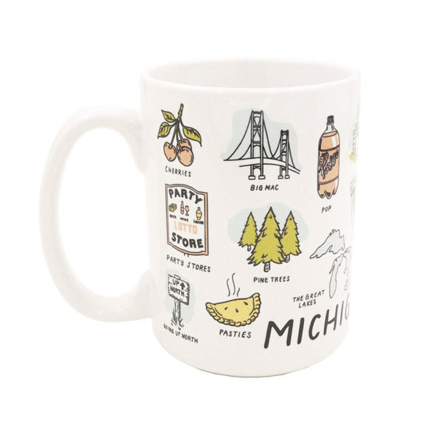Michigan Things Mug - City Bird