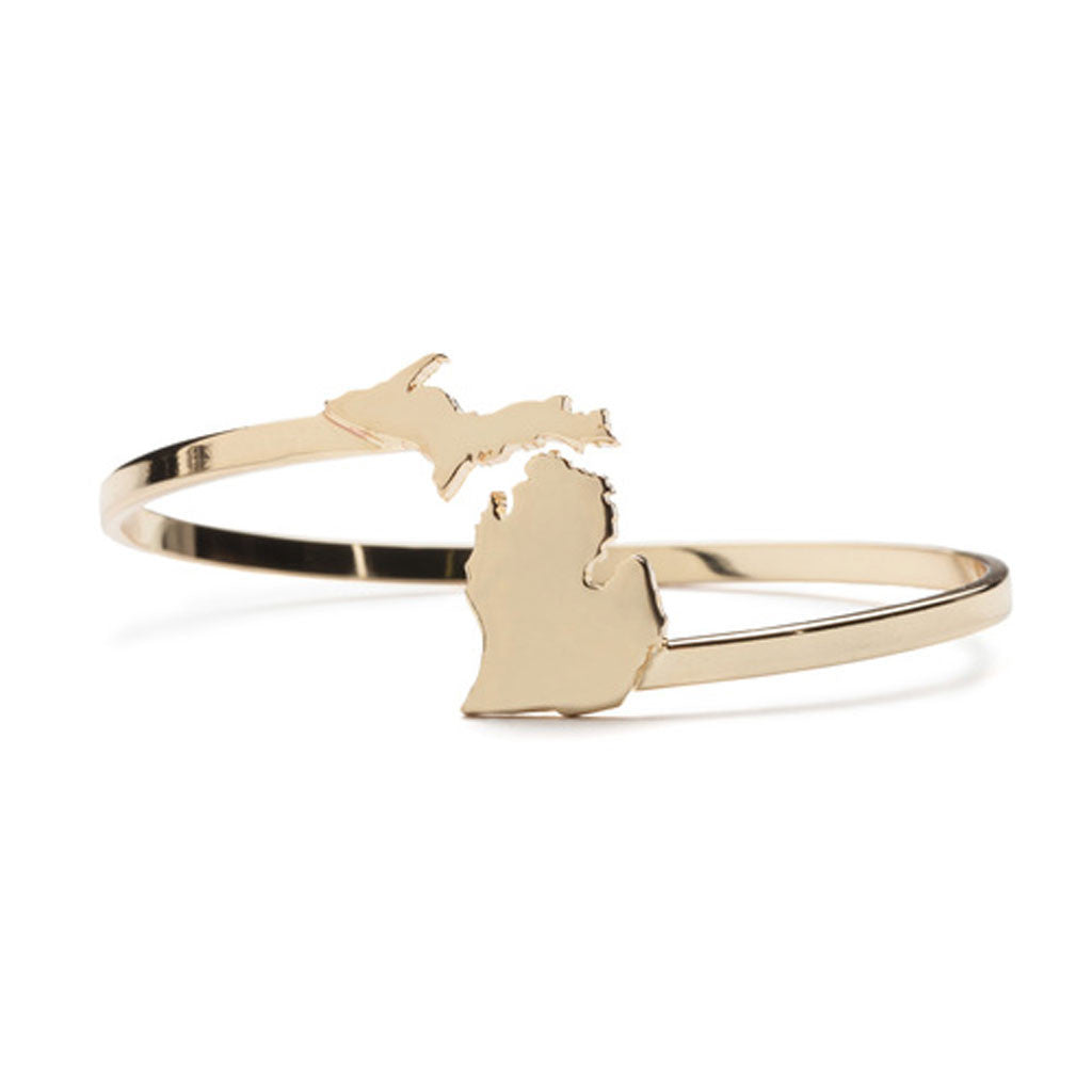 Michigan Wrap Bracelet Gold - City Bird