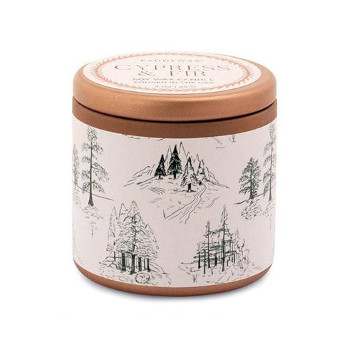 Cypress Fir 3 oz Copper Tin