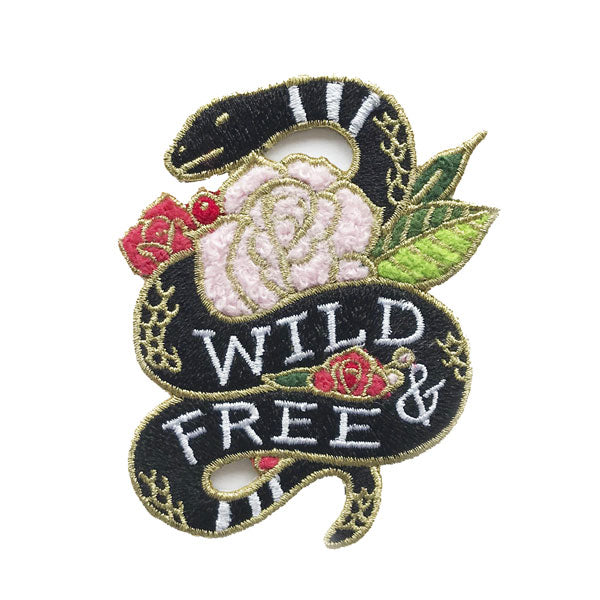 Wild & Free Patch - City Bird