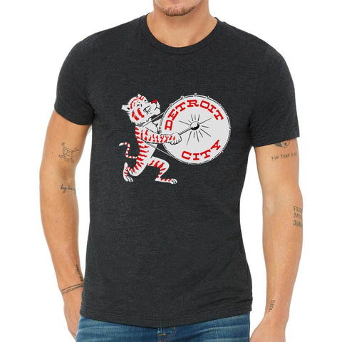 Party Tiger Drum T-Shirt - City Bird