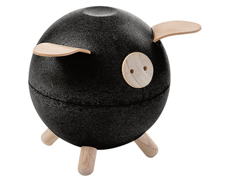 Piggy Bank (Black) - City Bird