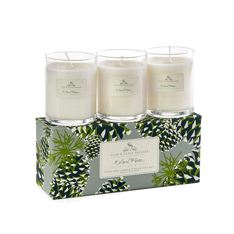 RP Votive Set Candle - 3 - Roland Pine - City Bird