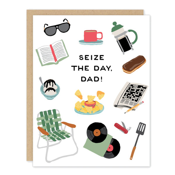 Dad Seize the Day Card - City Bird