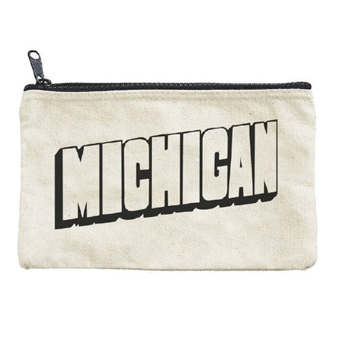 Michigan Zipper Pouch