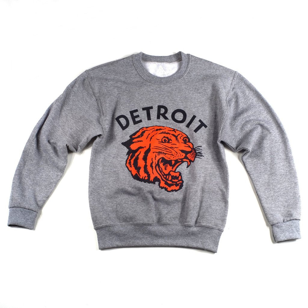 Detroit Neo-Tiger Toddler Crewneck Sweatshirt - City Bird