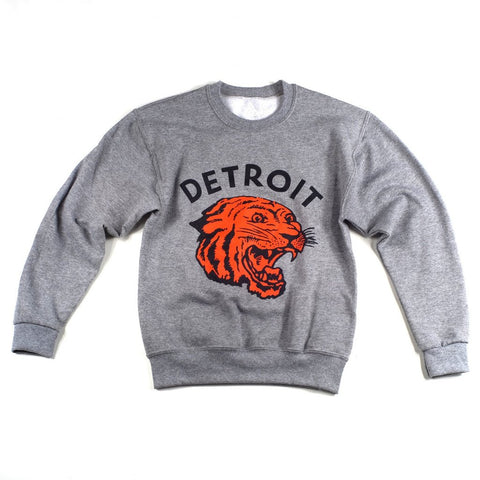 Detroit Neo-Tiger Toddler Crewneck Sweatshirt