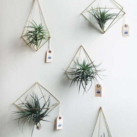 Brass Prism Wall Ornament