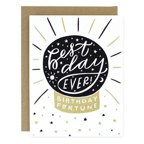 Fortune Birthday Card