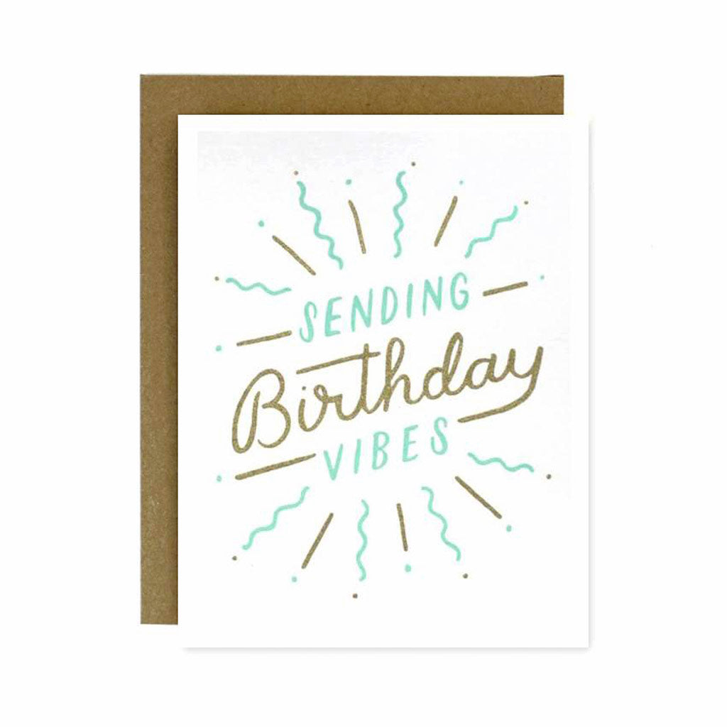 Birthday Vibes Card - City Bird