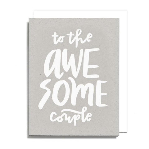 Awesome Couple Card Card - City Bird