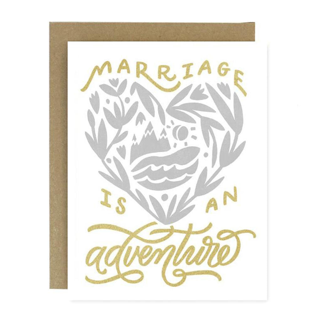 Marriage Adventure Card - City Bird