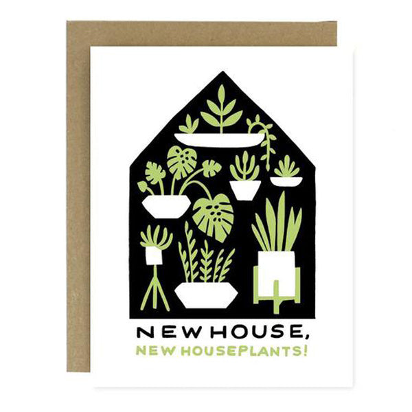 Housewarming Plants Card