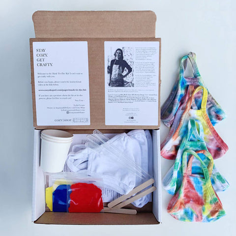 DIY Tie-Dye Mask Kits