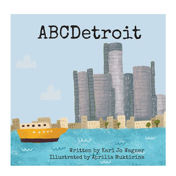 ABC Detroit Book - City Bird