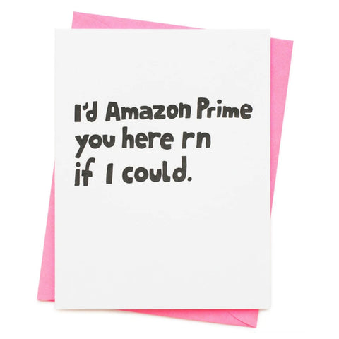 Amazon Prime Card - City Bird