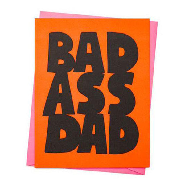 Bad Ass Dad Card - City Bird