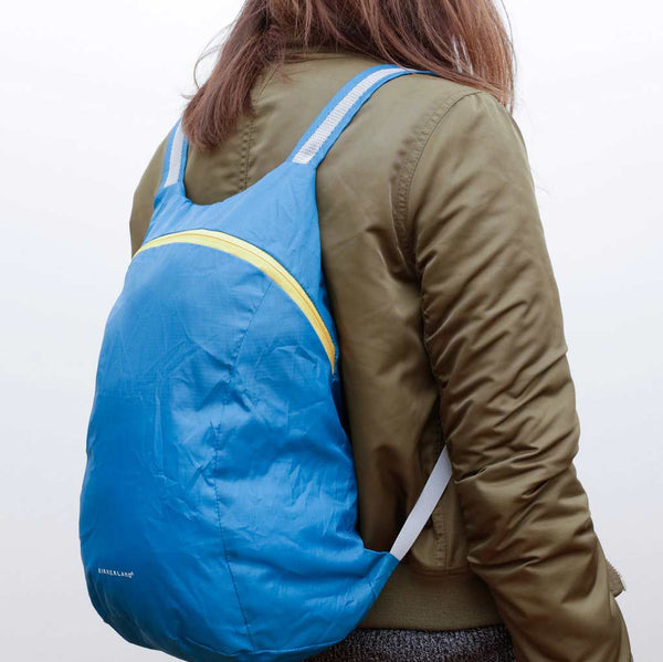 Compact Backpack - Blue - City Bird