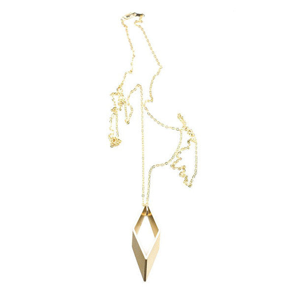 Parallelogram Necklace - City Bird