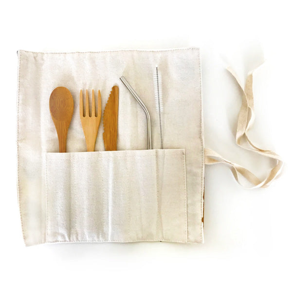 Eco Friendly Reusable Cutlery Set - Blossom - City Bird