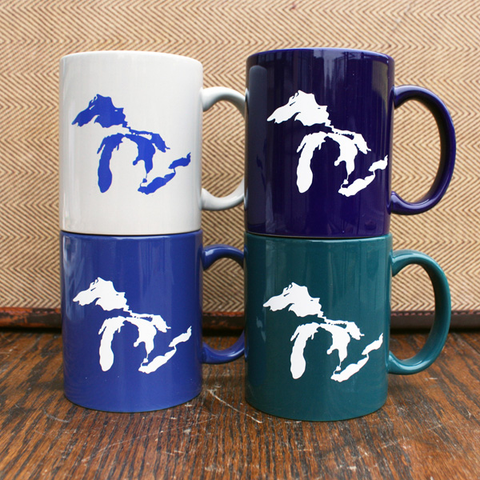 Great Lakes Mugs - City Bird